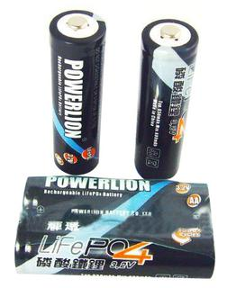 SIZE AA 14500/14505 LiFePO4 rechargeable battery cell