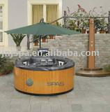 Garden whirlpool tub,round outdoor spa SPA-521