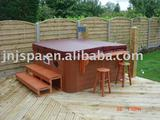 with step hot tub/outdoor spa/spa tub(SPA-816)