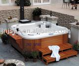 Backyard hot tub,luxurious butterfly outdoor spa SPA-563