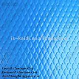 Embossed aluminium sheet