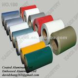 PVDF or polyester prepainted aluminium coil supplier