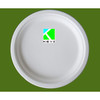 10inch bagasse pulp plate