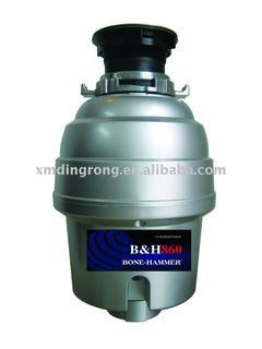 1/2HP Big Capacity Silver Gray Series Garbage Disposal