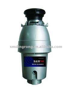 1/2HP Mid-Duty Silver Gray Series Garbage Disposal