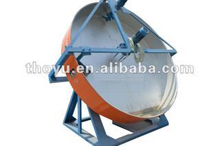 Roller pressing chicken manure fertilizer making machine