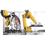 Robot gluer
