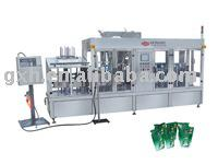 Self Standing Pouch Fill and Seal Machine