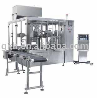 Self Standing Pouch Filling Sealing Machine