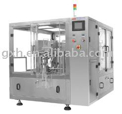 Self Standing Pouch Filling and Sealing Machine