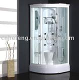 White ABS Shower Cabin