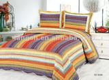 100%Cotton washable Embroidered Home/Hotel Quilt