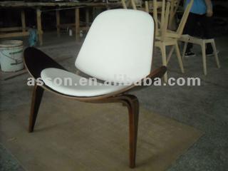 WEGNER SHELL CHAIR/ designer chair/ leisure chair/ hans wegner chair/ dining chair/ -ABL0008