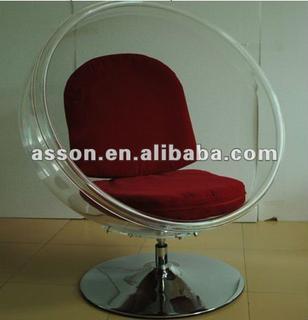 SWIVEL BUBBLE CHAIR / designer chair/ leisure chair/ hanging chair- -ABL0011