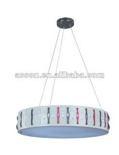 2012 Modern Acrylic Pendant Light /White/Round Pendant Lamp/Acrylic Lamp/Modern Lamp/Designer Lamp-AJFC2008