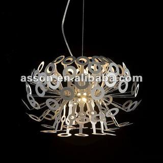 Richard Hutten Dandelion Light/Silver/Round Pendant Lamp/Acrylic Lamp/Modern Lamp/Designer Lamp-AJFC3803