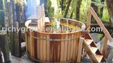 wood hot tub RWHA-7X3-RC-1I