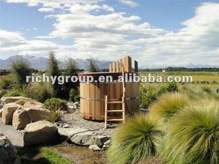 Wood hot tub RWHA-7x4-RC-1I
