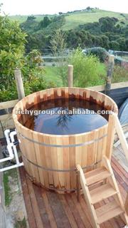 delux outdoor spa RWHA-7X4-RC-1O