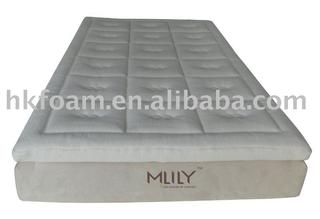 pillow top memory foam mattress