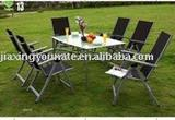 UNT-834-T outdoor folding table and chair set