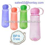 BPA free colored plastic water drinking bottles