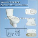 Chaozhou ceramic wash down bathroom toilets