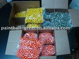 .68 .43 6mm, .50 PAINTBALL 10 pallets/20 conatiner