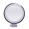Single side 360 degree free rotation 7X magnification bath mirror with led lights