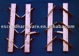 B1 single lever aluminum made frames for louver windows
