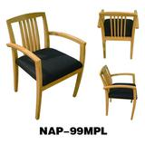 Office wood guest chair NAP-99MPL