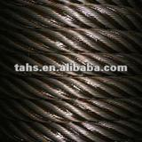 ungalvanized steel wire rope