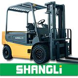 NEW Type SHANGLi Electric/ Battery Forklift 4-5 T with Italy SME