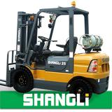 NEW type SHANGLi LPG & Gasoline Forklift 2-3 T with Japan MITSUBISHI