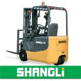 SHANGLi Three Wheels Battery/ Electric Forklift 1-1.8 T with Italy SME