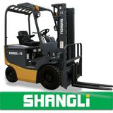 SHANGLi Battery/ Electric Forklift 1-1.5 T with Italy ZAPI