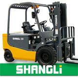 SHANGLi Battery/ Electric Forklift 3-3.5 T with Italy SME