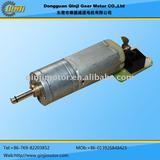 DC Gear Motor with 16mm gearbox/gear ratio 25~31,6-12v 15rpm small electric motor with reduction gearbox