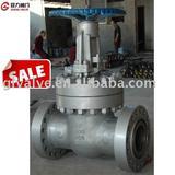 High pressure gate valve
