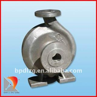 Duplex stainless steel casting/pump body