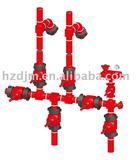 Drilling equipment-Drilling Fluid Manifold Drill Matching Products