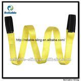 Double eye type webbing sling