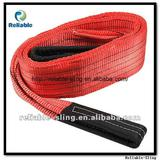 100% polyester flat webbing sling