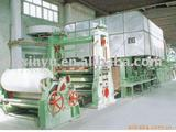 Tissue paper machine, complete plants and equipment for paper mill, paper machine
