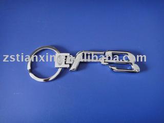 fashion car logo key chain/car logo key ring/car holder