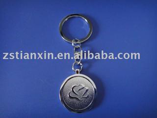 round key chain/fashion design key holder/new design key ring