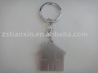 house shape key chain/house key holder/house key ring