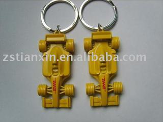 racing car key chain/racing car keychain/F1 racing car key ring