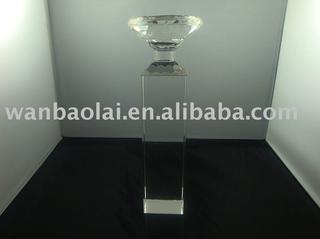 k9 Crystal Candle Holder Wedding Decoration(zt0030)