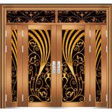 French Glass Decorate Door (XY-7045)